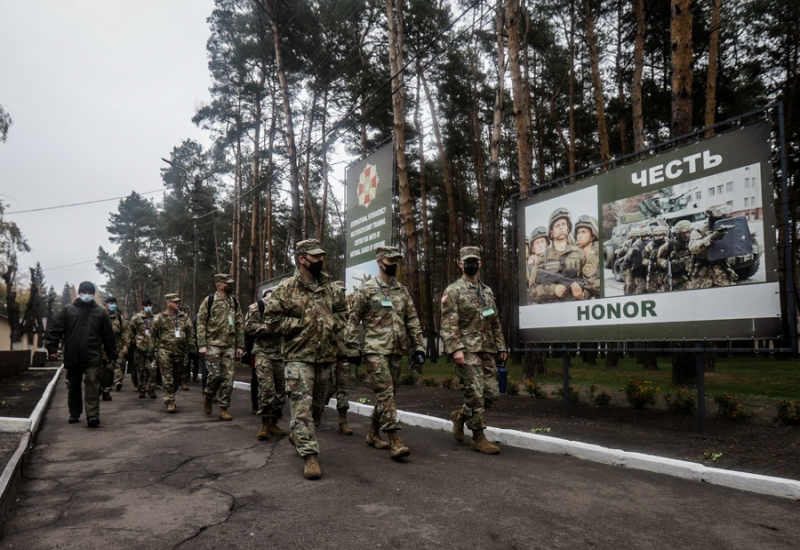 How foreign partners assessed the readiness of the National Guard to conduct multinational exercises