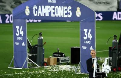 ريال مدريد بطل الدوري الأسباني