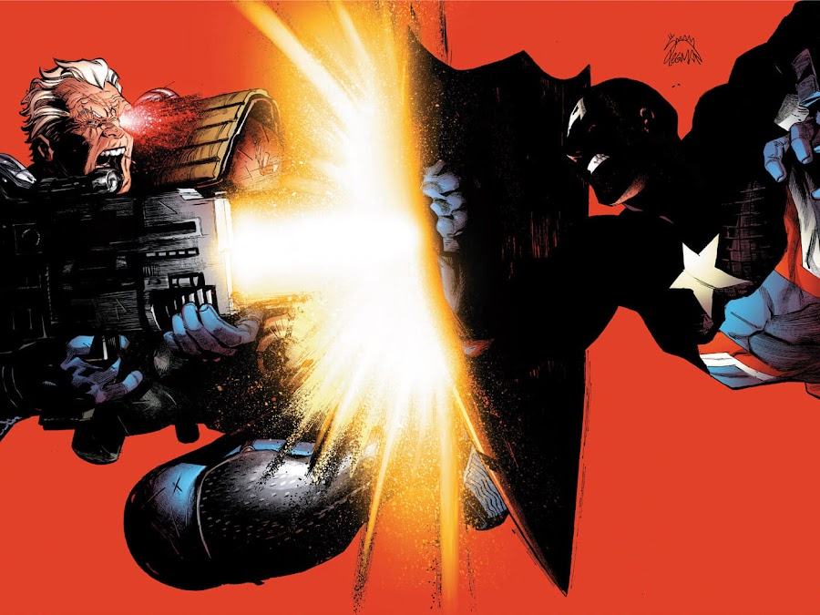uncanny avengers civil war II marvel comics cable vs captain america