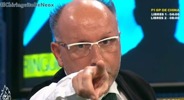 Josep Pedrerol saca pecho de la exclusiva que Francois Gallardo concedió hace 7 años