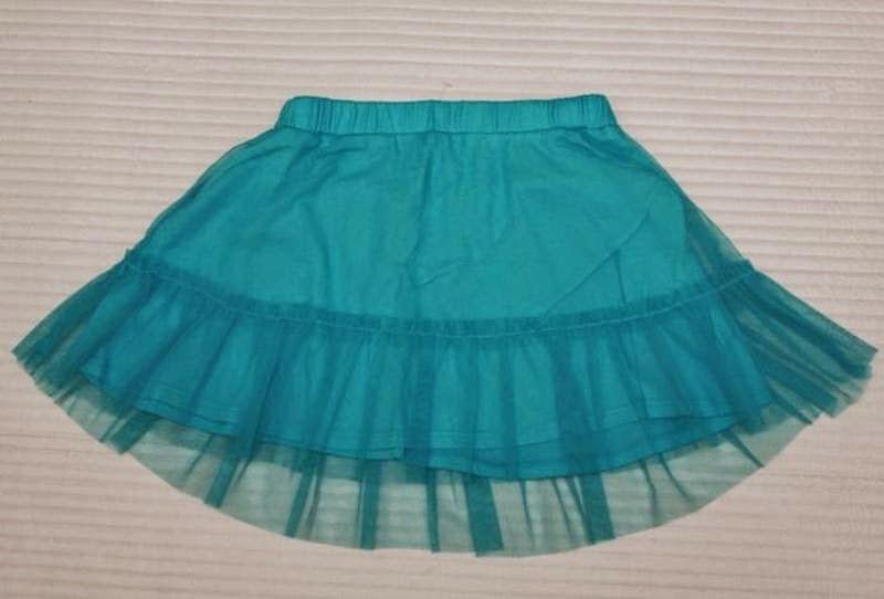 Contoh gambar rok model tutu skrits warna biru