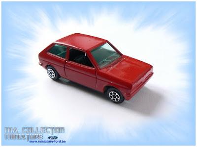 Ford Fiesta roude de Guiloy Toys