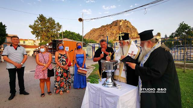 Ο Μητροπολίτης Αργολίδας εγκαινίασε την έκθεση βιβλίου στο Ναύπλιο (βίντεο)