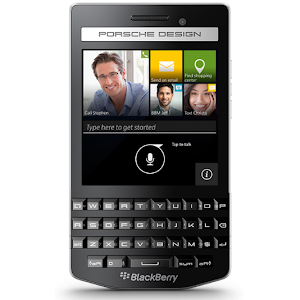 BlackBerry Porsche Design P'9983 (front)