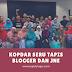 Kopdar Seru Tapis Blogger dan JNE