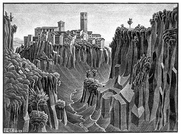 Bensozia M C Escher Landscapes