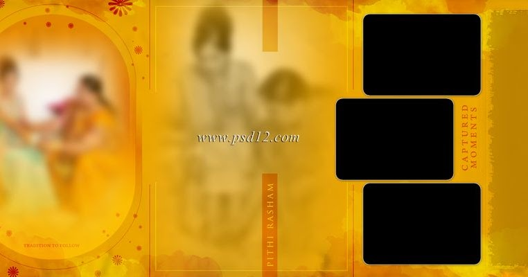 Evergreen 12x36 Album Psd Vol 3 Photoshop Backgrounds