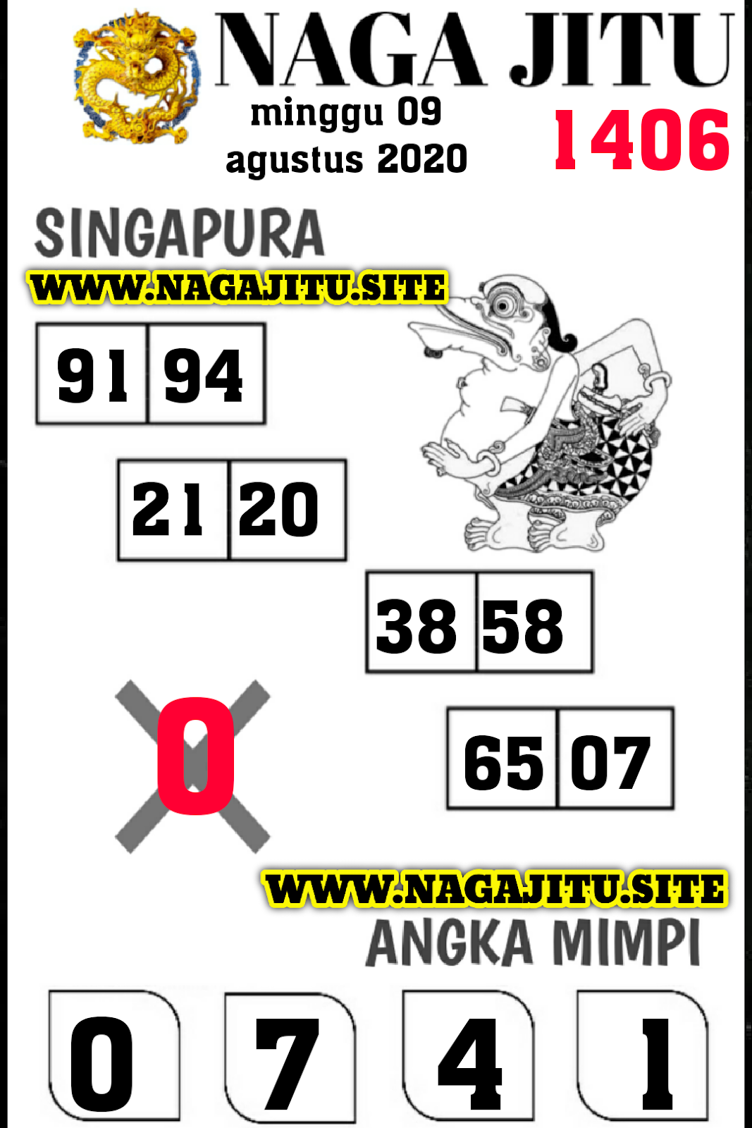 syair naga singapura