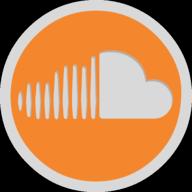 soundcloud button outline