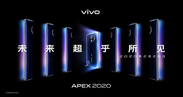 Vivo Apex 2020 Under Display Camera, 60W Wireless Charging