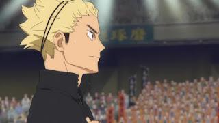 "Hellominju.com: ハイキュー!! アニメ第4期23話『静かなる王の誕生』 | 烏野VS稲荷崎 | Haikyū!! Season4  EP.23""Birth of the Serene King""  | Hello Anime !"