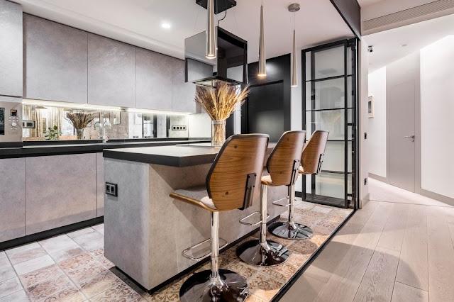 Дизайн-проекты. Элегантные апартаменты в экзотическом стиле