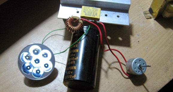 Membuat free energy generator sederhana dari dynamo dvd bekas