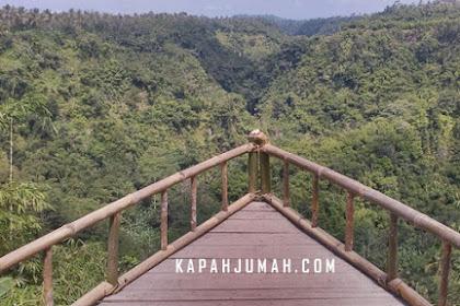 Lembah Tukad Melangit di Antugan, Desa Jehem, Kecamatan Tembuku Bangli