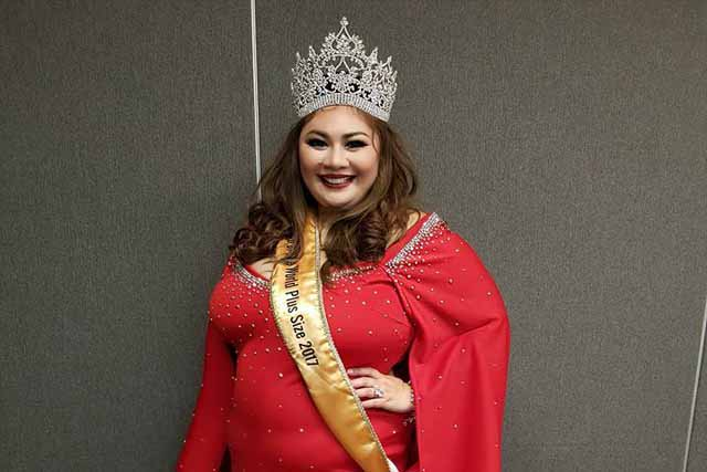 Filipina crowned Miss Top of the World Plus Size 2017