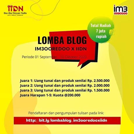 Lomba Blog IIDN Indosat