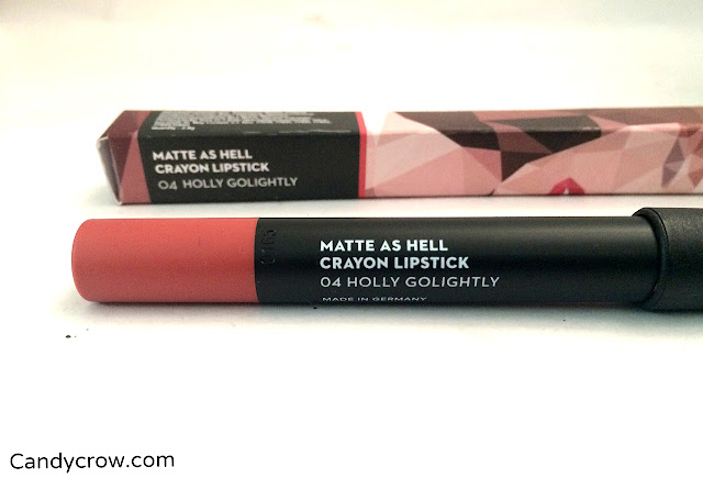 SUGAR Matte As Hell Crayon Lipstick - Holly Golightly Review