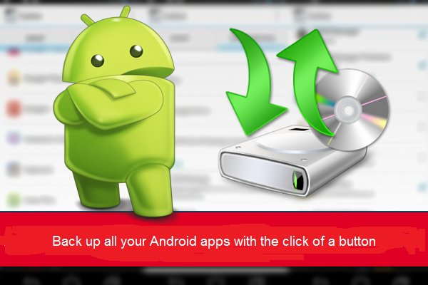 Back up all your Android apps with the click of a button