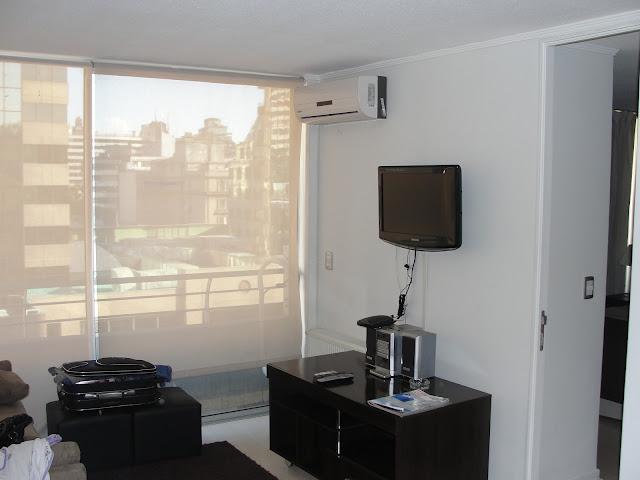 Sala do apartamento.