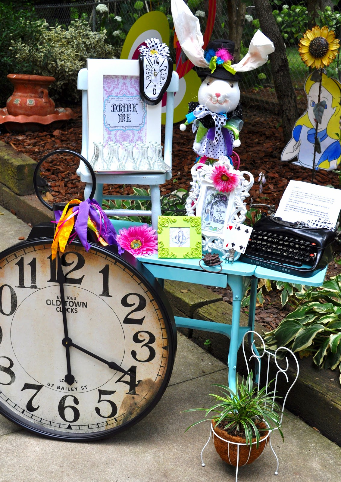 Alice In Wonderland Chair Rocker For Nursery Meghily's: Party