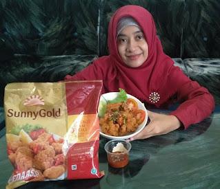 kreasi SunnyGold Chicken Spicy Karaage