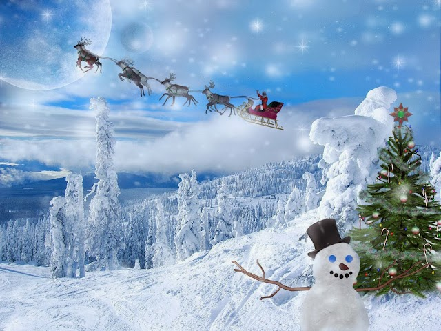 HD Christmas Cute Desktop Wallpapers Free Download