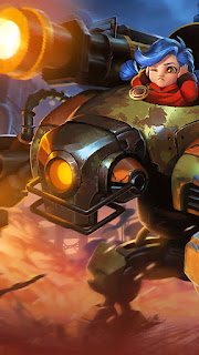 Jawhead Steel Sweetheart Heroes Fighter of Skins V2