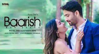 Baarish Ban Jaana Lyrics - Stebin Ben x Payal Dev   Hina Khan
