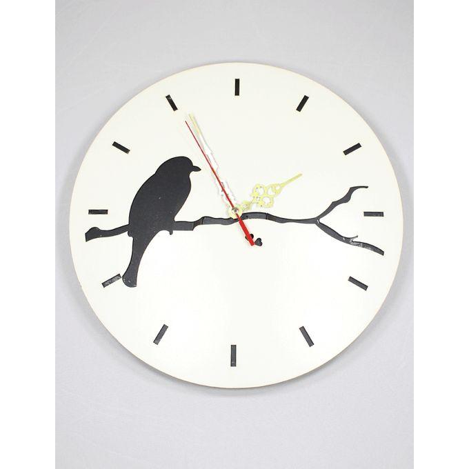 9b5d5f749 ساعات حائط خشبية - DecoMart