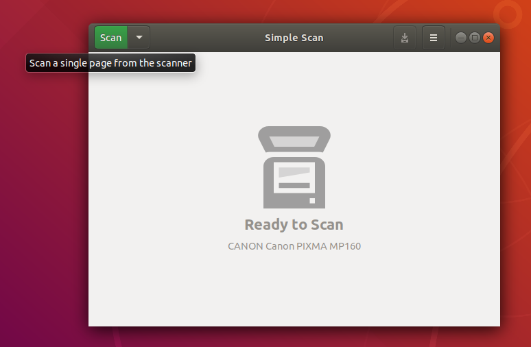 Scanning on Ubuntu 18 04 and Trisquel 8 0