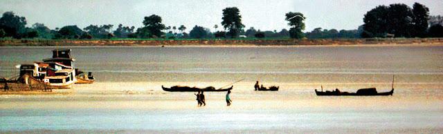Chindwin River at Monywa