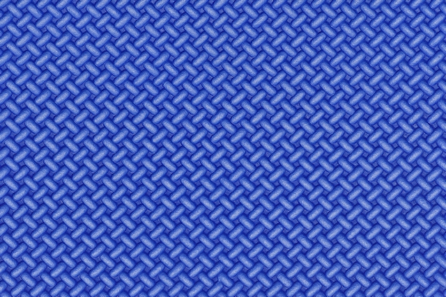Blue foam mat texture