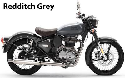 Royal Enfield Classic 350 Redditch Grey.