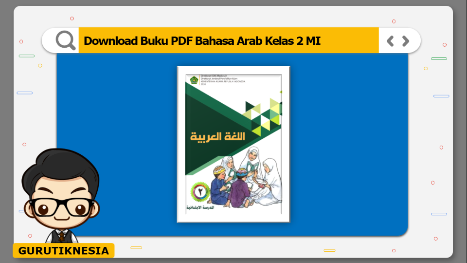 download buku pdf bahasa arab kelas 2 mi