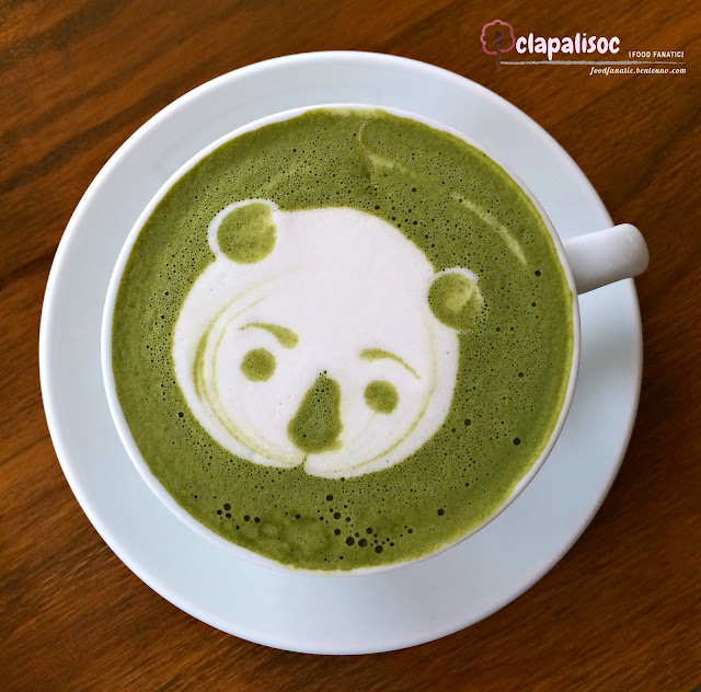 Japan Matcha Latte from Single Origin Rockwell