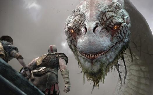 God of War 2018 PS4 - Fond d'Écran en Ultra HD 4k