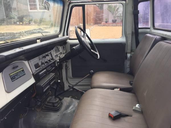 1984 Toyota Land Cruiser HJ47 One Ton Pickup Truck
