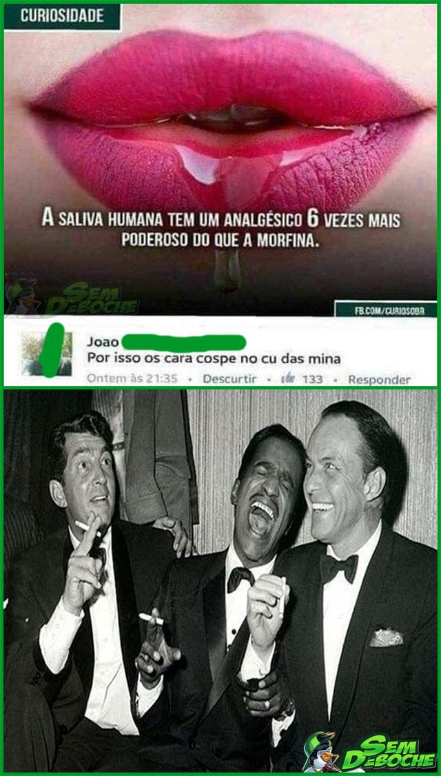 SALIVA ANALGÉSICA
