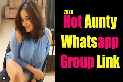 Aunty Whatsapp Group link 2020 I Join Aunty Whatsapp Group link list