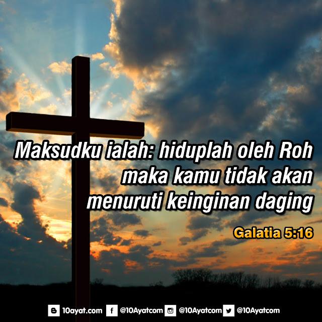 Galatis 5:16