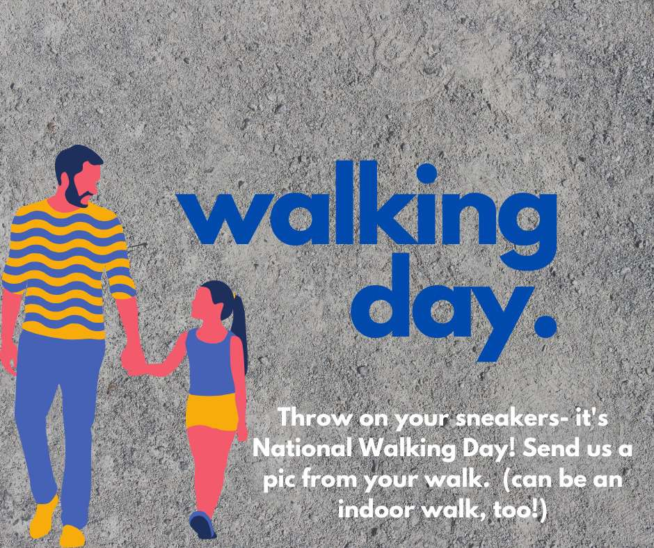 National Walking Day Wishes Sweet Images