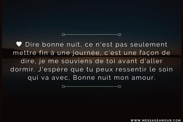 message-de-bonne-nuit-mon-amour