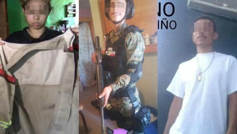 Estos son algunos de los 8 Sicarios del CDN abatidos que Derechos Humanos de Nuevo Laredo y Medios dan como inocentes