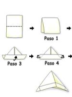 http://manualidadesparaninos.biz/sombrero-de-papel/