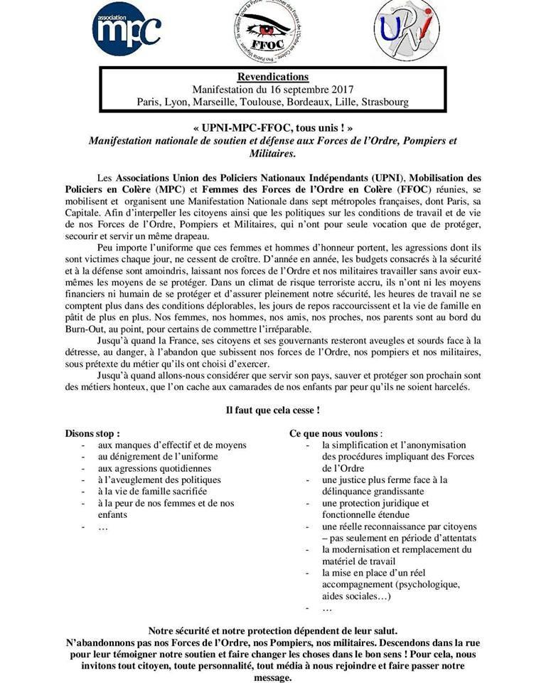 Des mobilisations sont également prévues à Marseille, Lyon, Bordeaux, Toulouse, Strasbourg et Lille
