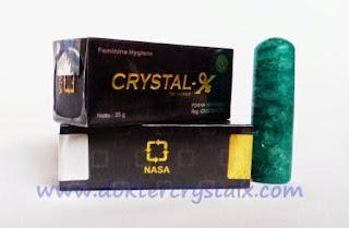 Jual Crystal X Asli NASA Obat Mengatasi Keputihan