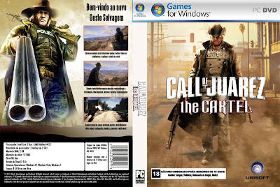 Call Of Juarez The Cartel PC DVD Capa