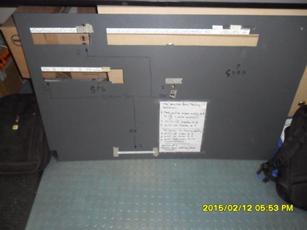 Functioning procedures bilge alarm transmission