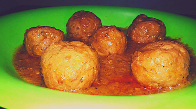 Slow Cooker Meatballs/ Kofta curry recipe, www.thehoggerz.com