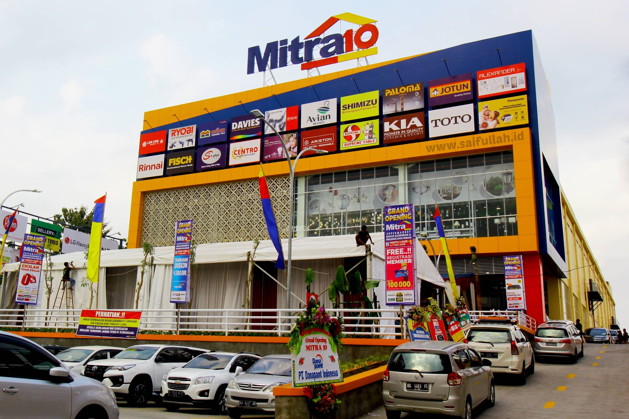 Lowongan Kerja Staff Warehouse Mitra10 Kedungdoro Surabaya